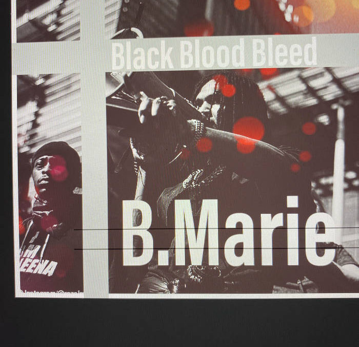 B.Marie Featuring Lejend – Black Bloods Bleed (Video)